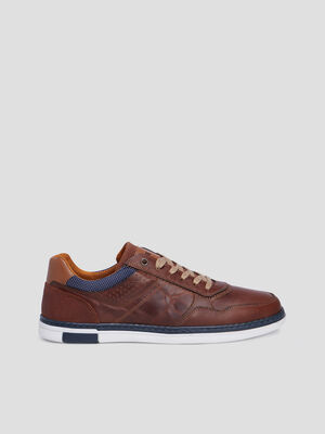 Sneakers Creeks marron homme