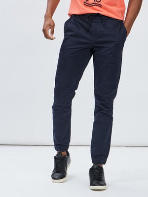 Pantalon jogpant bleu marine homme