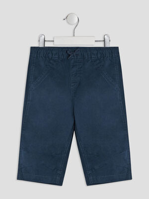 Short Bermuda bleu marine garcon