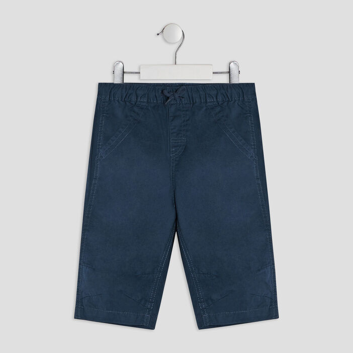 Short, Bermuda garçon bleu marine