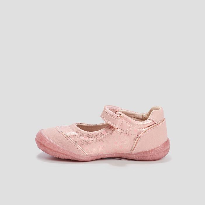 Babies à détails irisés fille rose