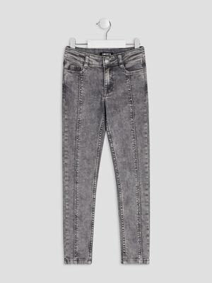 Jeans slim Liberto gris fille