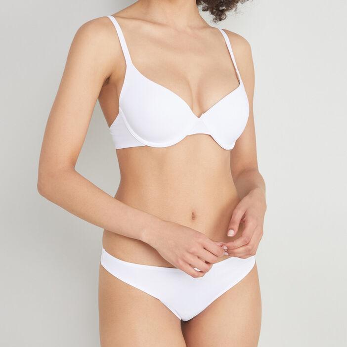 Soutien-gorge corbeille femme blanc