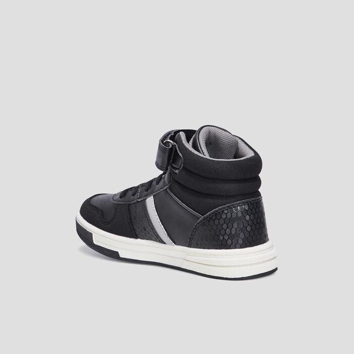 Baskets montantes garçon noir