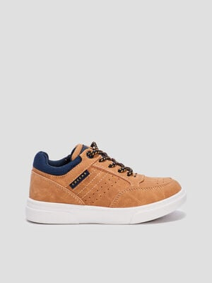 Baskets tennis zippees Creeks camel garcon