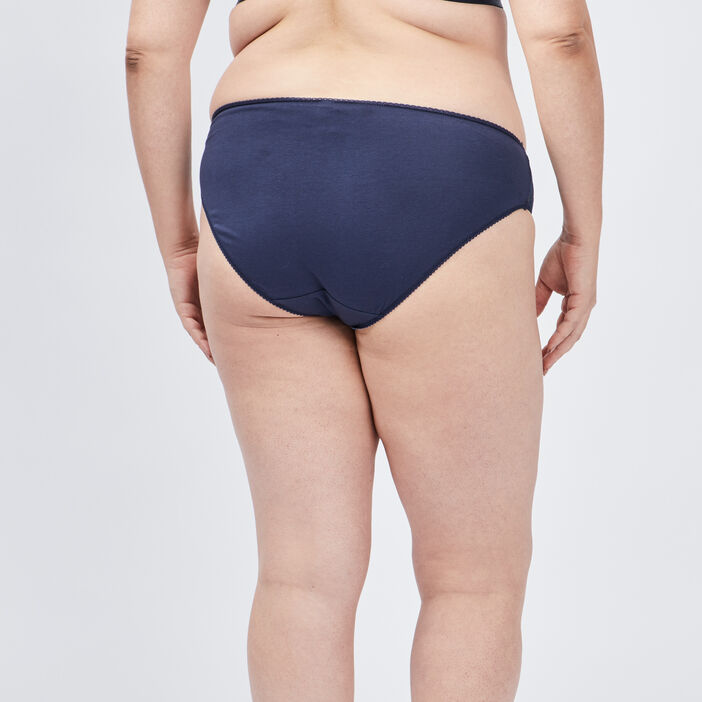 Culotte grande taille femme grande taille bleu marine