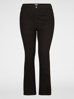 Jean coton majoritaire grande taille noir femmegt