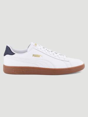 Tennis Puma SMASH V2 blanc homme