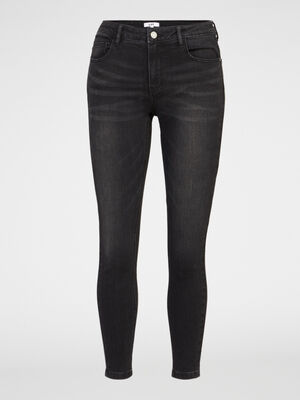 Jean skinny extensible 78 noir femme