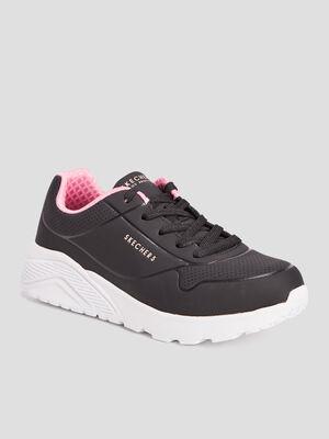 Runnings Skechers noir fille