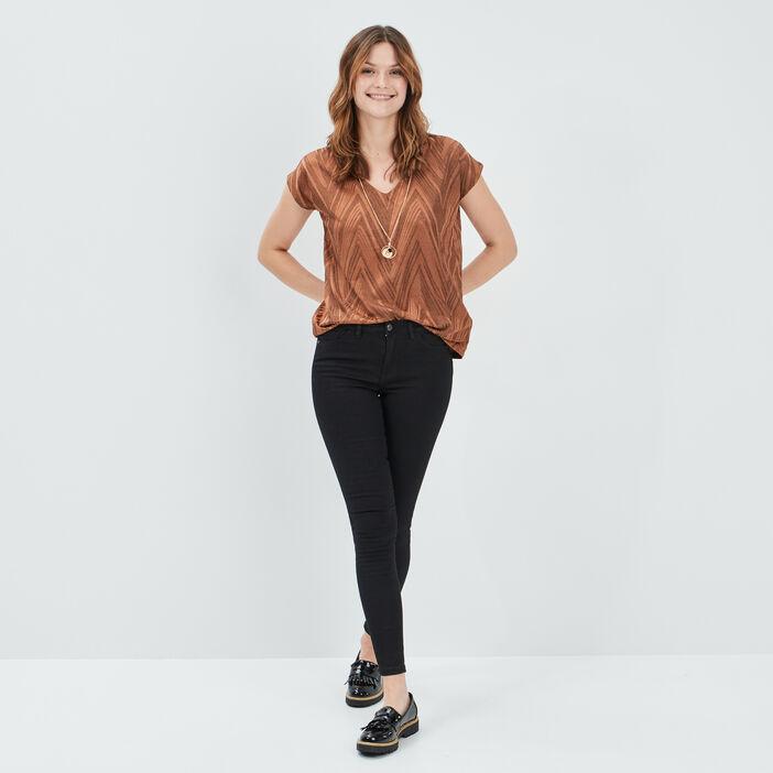 Jeans skinny Liberto femme noir