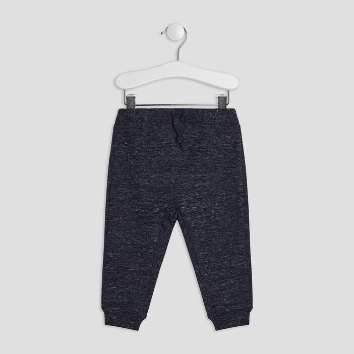 Jogging avec poches bébé garçon bleu
