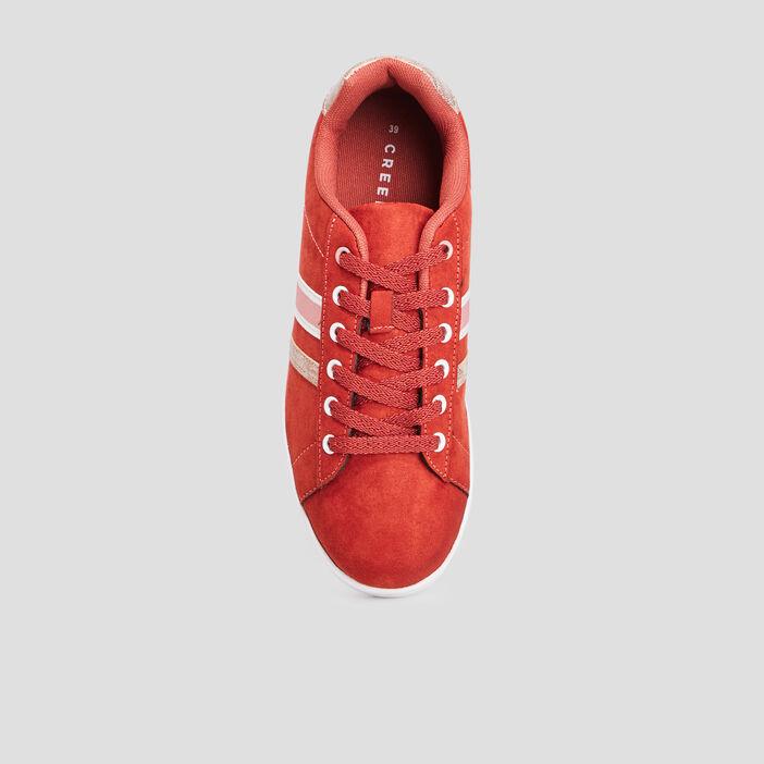 Tennis Creeks femme rouge