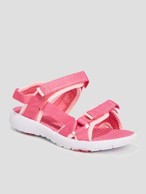 Sandales rose fille