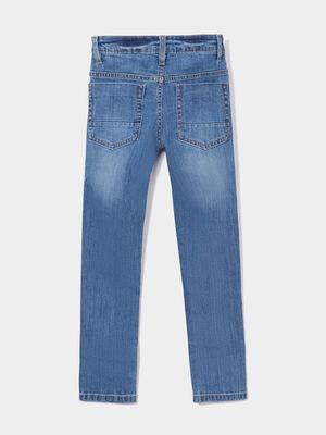 Jeans slim effet stretch denim double stone garcon