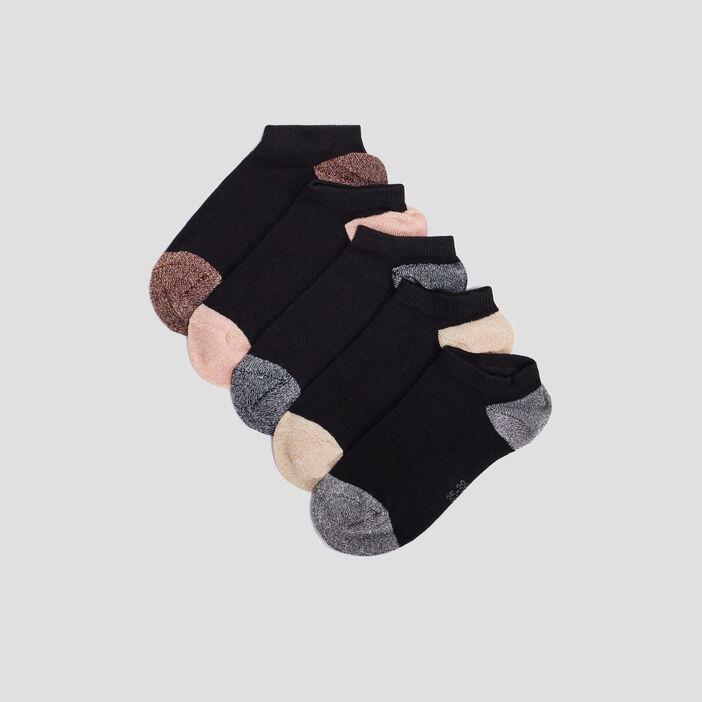 Socquettes femme noir