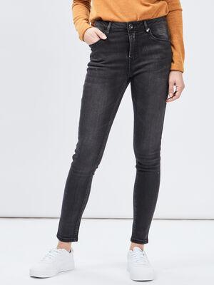 Jeans skinny noir femme