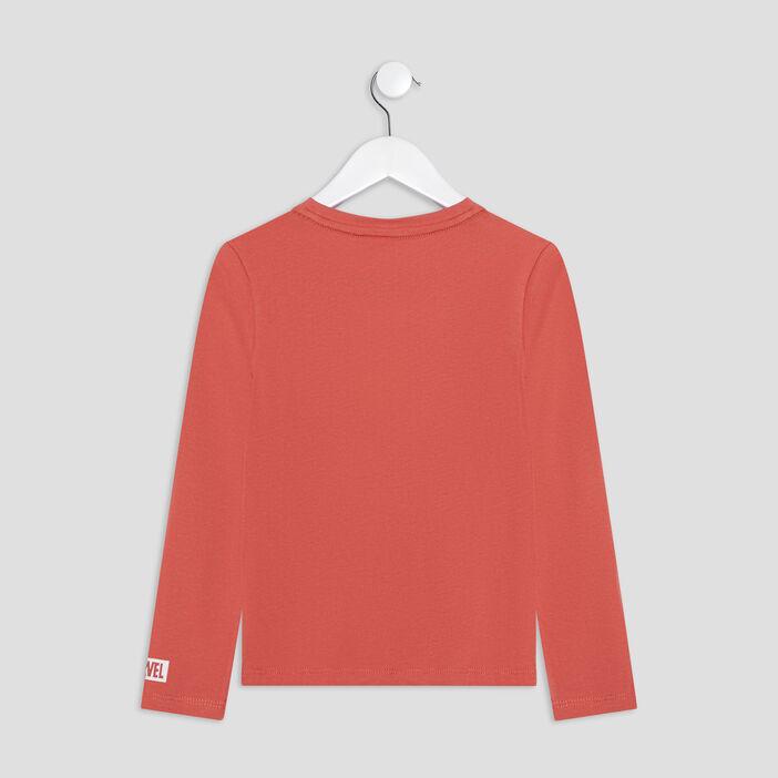 T-shirt Captain America garçon orange