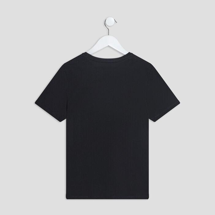 T-shirt manches courtes garçon noir