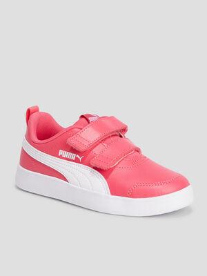 Tennis Puma rose fille