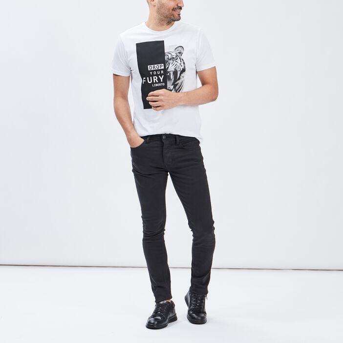 Pantalon skinny Liberto homme noir