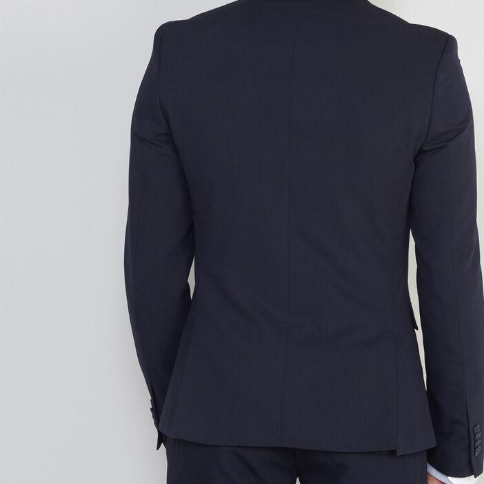 Veste slim avec 2 boutons homme bleu marine