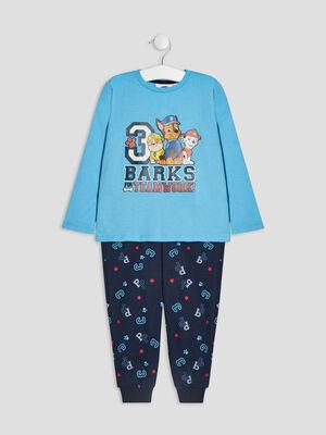 Ensemble pyjama Paw Patrol bleu garcon