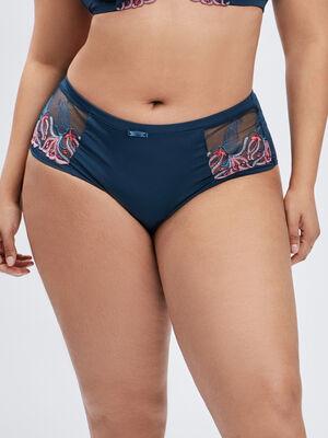 Culotte boxer bleu canard femmegt