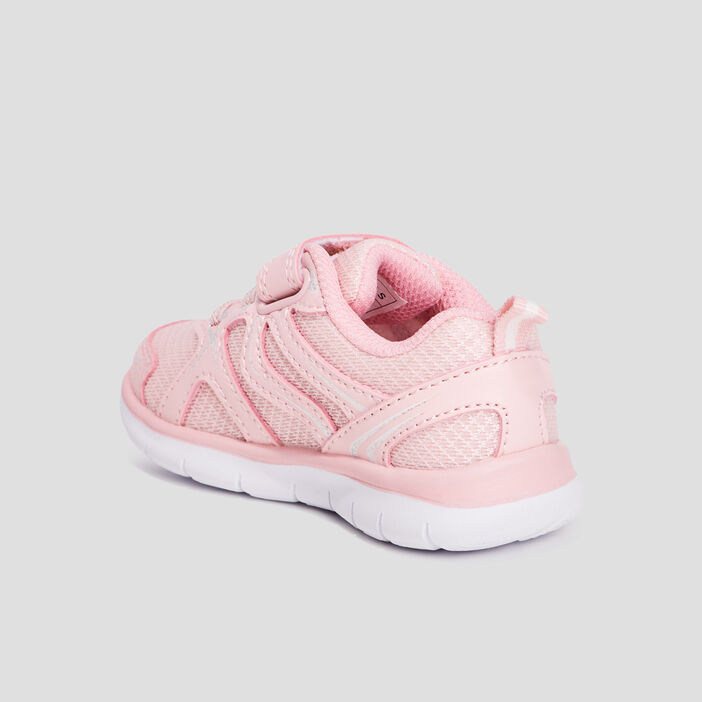 Baskets running Creeks bébé fille rose
