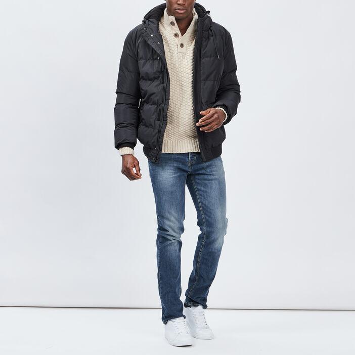 Jeans regular homme denim double stone