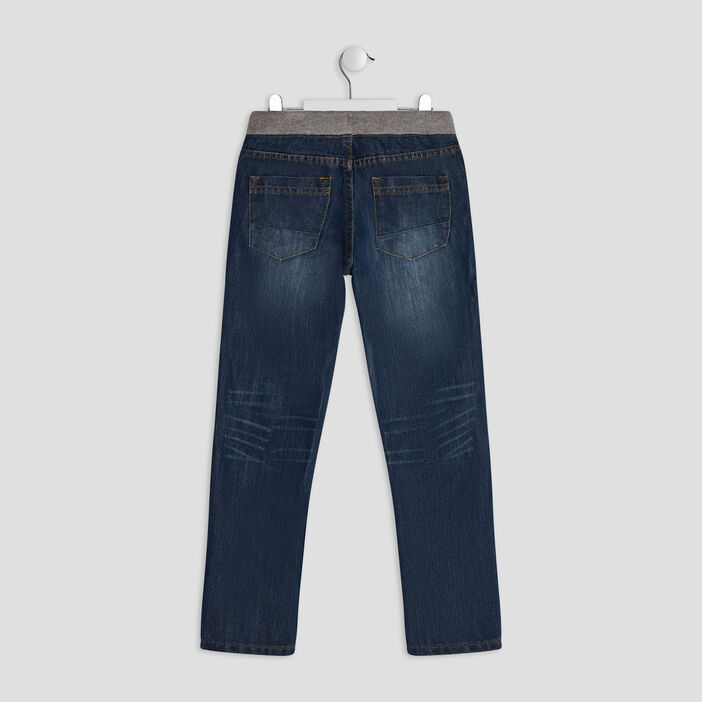Jeans regular garçon denim stone