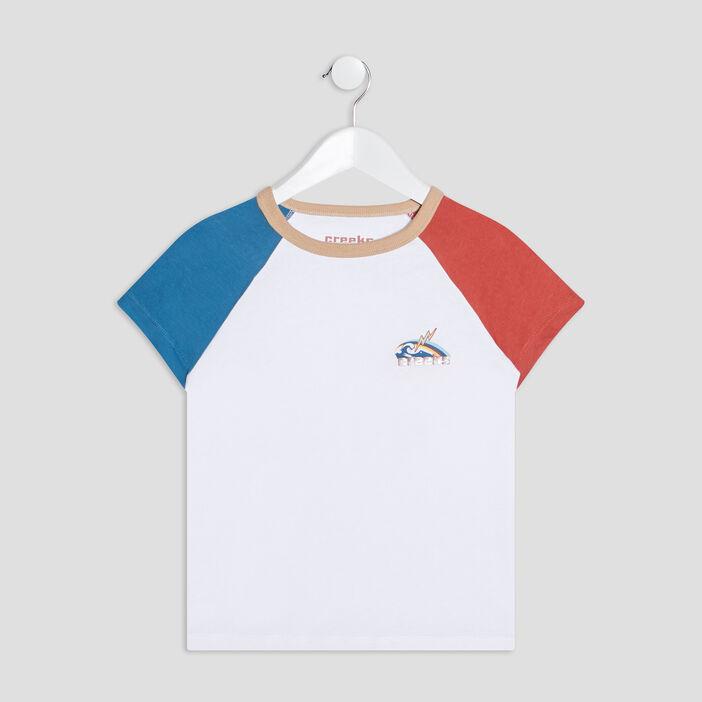 T-shirt manches courtes Creeks garçon beige