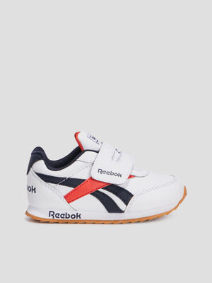Baskets retro running Reebok blanc bebeg
