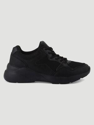 Baskets runnings Liberto noir femme