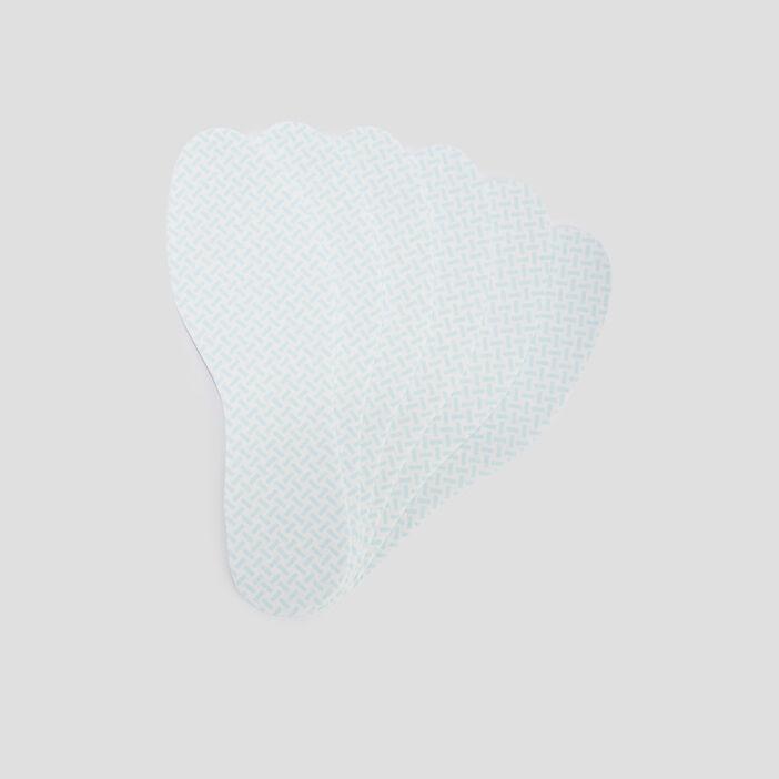 Semelles fines jetables  blanc