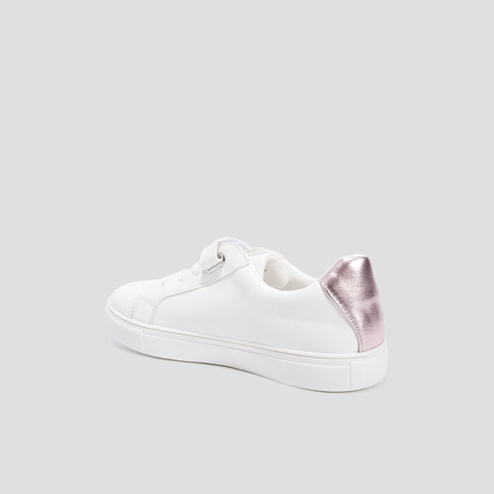 Baskets tennis fille blanc