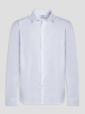 Chemise manches longues Studio blanc homme