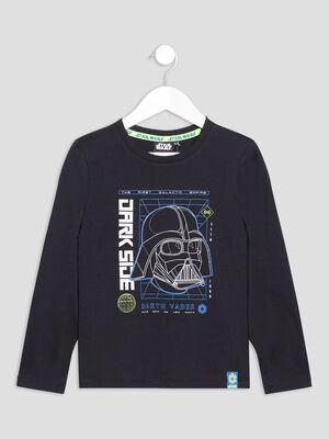 T shirt Star Wars noir garcon