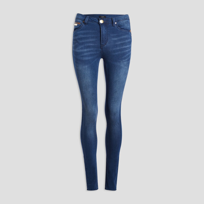 Jeans skinny femme denim stone