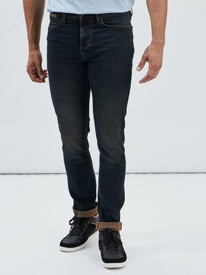 Jeans slim stretch Creeks denim dirty homme