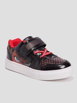 Baskets Miraculous Ladybug noir fille