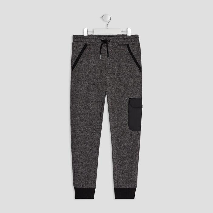Pantalon jogging Liberto garçon gris foncé