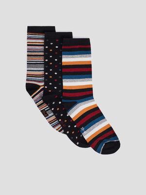 Chaussettes multicolore femme