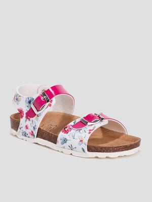 Sandales blanc fille