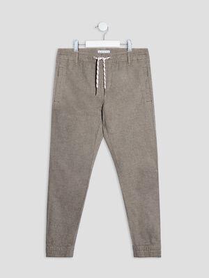 Pantalon droit beige garcon
