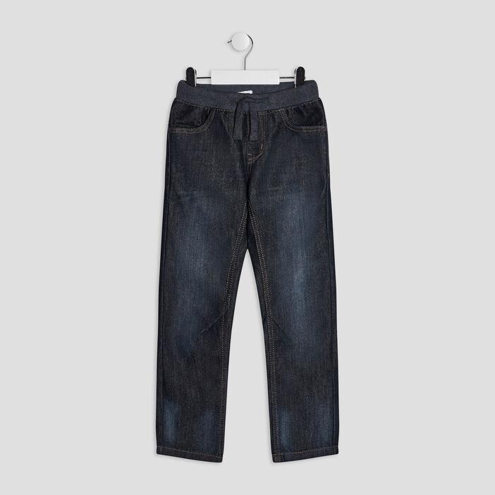 Jeans regular garçon denim brut