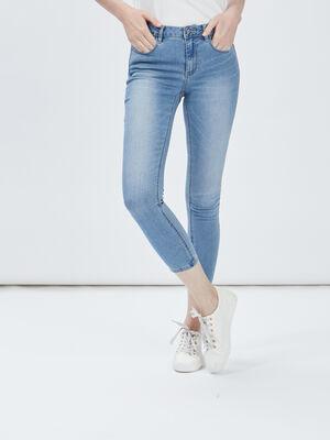 Jeans skinny 78eme denim double stone femme