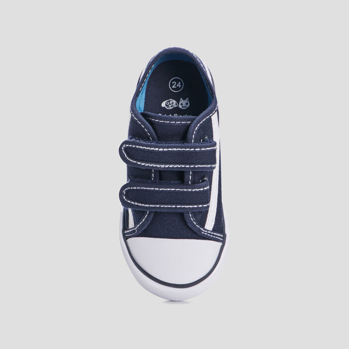 Baskets tennis bébé garçon bleu