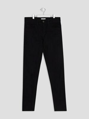Pantalon droit noir garcon
