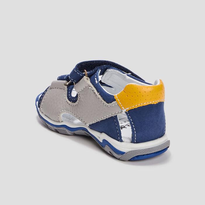 Sandales bébé garçon bleu